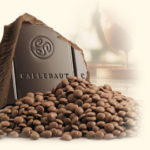Free belgian chocolate or a sample of the ground dark chocolate