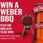 Win a free Weber BBQ courtesy of Budweiser