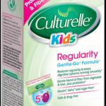 Free package of NEW Culturelle Kids Regularity Gentle-Go Formula