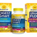 Free samples of Ultimate Flora Kids Probiotic and Digest Smart Kids Enzyme