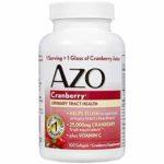 FREE AZO Cranberry Softgels
