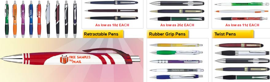 free-pen-bradley-pens-free - Freebies and Free Samples by Mail