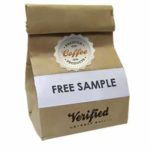 Free sample of Verified Gourmet Coffee
