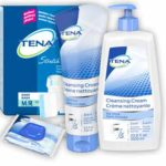 Free Tena Kit – briefs, wipes and cleansing cream