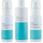 Free samples of Riversol cleanser, anti-redness serum and moisturizer