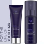 FREE sample of MONAT's RENEW Shampoo and RESTORE Leave-In Conditioner