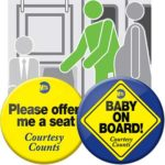 'Baby on Board!' Button