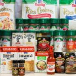 Free food samples of McCormick Product