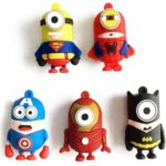 Free Minion Superhero USB Sticks