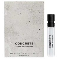 comme des garcons is giving away free samples of her new perfume to get a free comme des garcons concrete lick the start the experience and tap