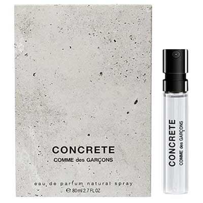 Free Sample Of Comme Des Garcons Concrete Fragrance