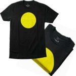 Free Yellow Circles shirt and stickers