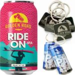 Free Golden Road Keychains
