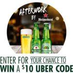 Heineken Afterwork Sweepstakes