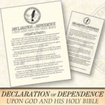 Free Declaration of Dependence Magnet