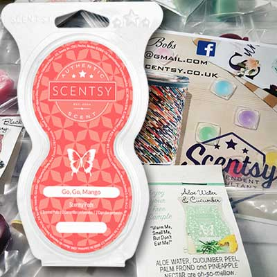 Free Scentsy Sample and catalogue - Freebies and Free