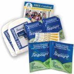 HDIS Free Sample Pack With Reassure Travel Washcloths