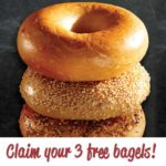 Free Bruegger's Bagels Welcome Reward