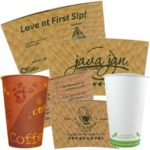 Free Coffee Cup, Lid and Sleeve