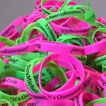 Free Pink or Green Wristband