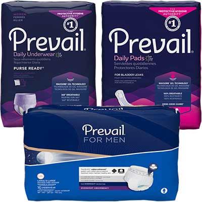 Free Prevail Briefs, Pads and Liners Sample Kit - Freebies and Free