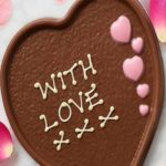 Free Personalised Chocolate Heart