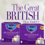 Free Tetley British Blend Tea