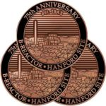 Free 2019 Hanford B-Reactor Commemorative Pin