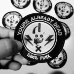 Free Dead Punk Stickers