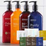 Free Hair or Skin & Body Care Sample Set