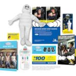 Free Michelin Man Plush Doll