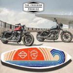Free Harley-Davidson Surf Sticker