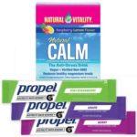 Free Propel Powder Pack & Natural Vitality Calm Magnesium Powder