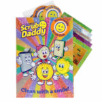 Free Scrub Daddy Sticker Book