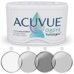 Free ACUVUE OASYS with Transitions Light Intelligent Technology