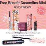 Free Benefit Cosmetics Mini