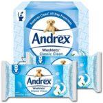 Free Pack of Andrex Washlets