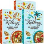 Free Kellogg's NO Added Sugar Granola