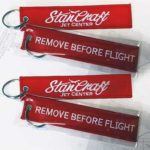 Free Remove Before Flight Key Chain