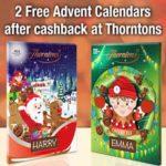 Free Thorntons Chocolate Advent Calendars
