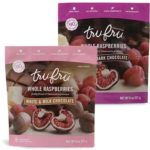 Free Tru Fru Frozen Fresh Raspberries in Premium Chocolate