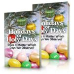 Free Holidays or Holy Days Book