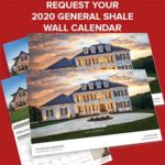 Free 2020 General Shale Wall Calendar