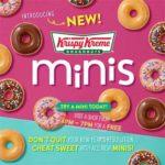 Free Mini Krispy Kreme Donut