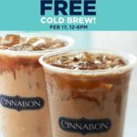 Free Cinnabon Cold Brew Coffee