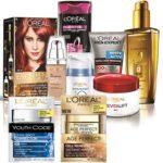 Free L'Oreal Haircare, Skincare & Cosmetics