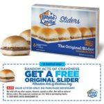 Free Original Slider at White Castle