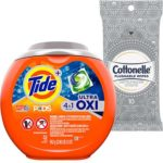 Free Tide Pods Oxi and Cottonelle Flushable Wipes Samples