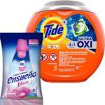 Free Tide Pods Oxi and Ensueno Fabric Softener
