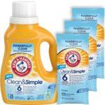 Free Arm & Hammer Clean & Simple Detergert Samples